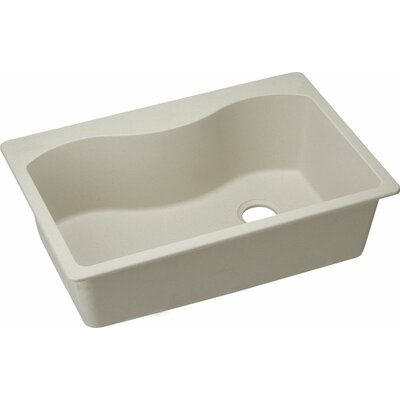 Quartz Classic 33 x 22 Kitchen Sink Finish: Bisque
