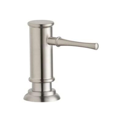 Explore Deck Mount Soap Dispenser Finish: Lustrous Steel