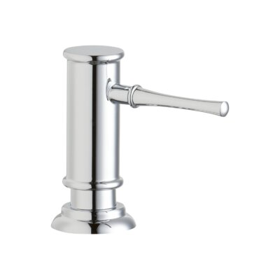 Explore Deck Mount Soap Dispenser Finish: Chrome
