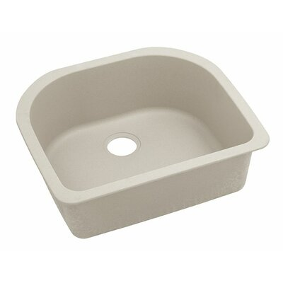 Classic 25 x 22 Single Bowl Kitchen Sink Finish: Putty