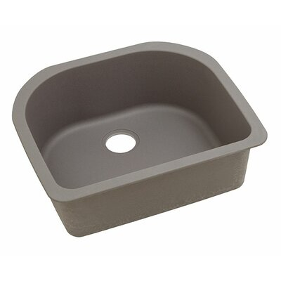 Classic 25 x 22 Single Bowl Kitchen Sink Finish: Greige