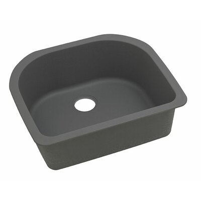 Classic 25 x 22 Single Bowl Kitchen Sink Finish: Dusk Gray