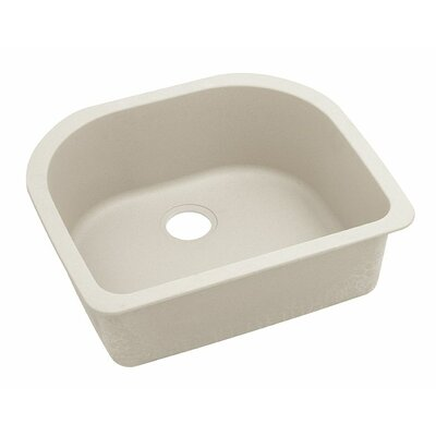 Classic 25 x 22 Single Bowl Kitchen Sink Finish: Bisque