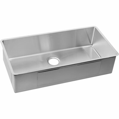 Crosstown 36.5 x 18.5 Stainless Steel Single Bowl Undermount Kitchen Sink