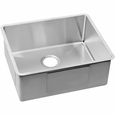 Crosstown 22.5 x 18.5 Stainless Steel Single Bowl Undermount Kitchen Sink