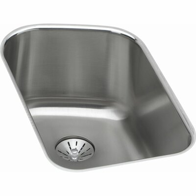 Harmony 13.5 x 21.1 Stainless Steel Single Bowl Undermount Kitchen Sink with Faucet