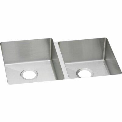 Avado 31.25 x 20.5 Stainless Steel Double Bowl Undermount Kitchen Sink