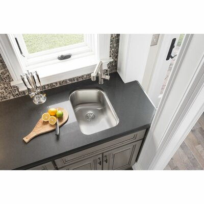 Lustertone 14 x 20 Undermount Kitchen Sink with Drain Assembly