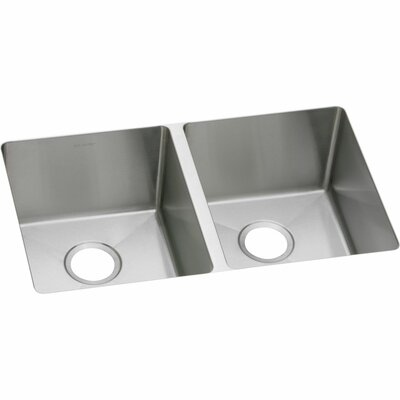 Crosstown 31 x 19 Double Basin Kitchen Sink