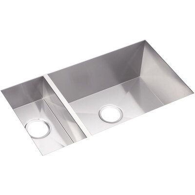 Avado 32.25 x 18.25 Stainless Steel Double Bowl Undermount Kitchen Sink