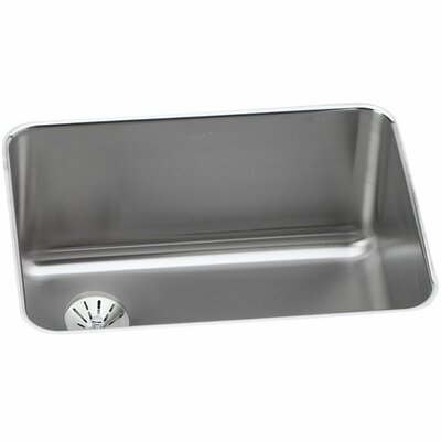 Gourmet 25.5 x 19.25 Stainless Steel Single Bowl Undermount Kitchen Sink