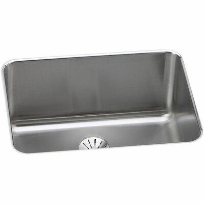 Gourmet 25.5 x 19.25 Stainless Steel Single Bowl Undermount Kitchen Sink