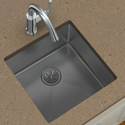 Crosstown 18.5 x 18.5 Undermount Kitchen Sink