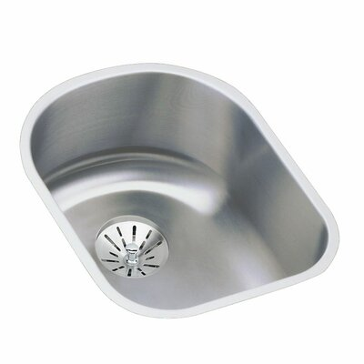 Harmony 14 x 17.5 Stainless Steel Single Bowl Undermount Kitchen Sink