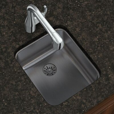Gourmet 16 x 18.5 Stainless Steel Single Bowl Undermount Kitchen Sink
