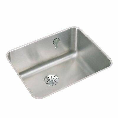Gourmet 23.5 x 18.25 Stainless Steel Single Bowl Undermount Kitchen Sink