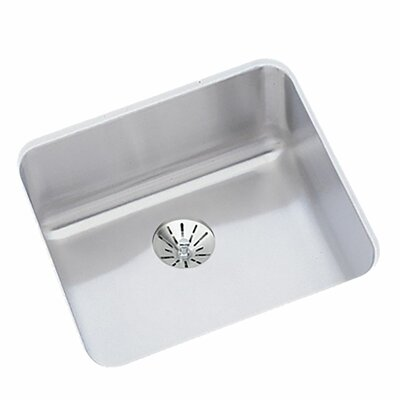 Gourmet 14.5 x 14.5 Stainless Steel Single Bowl Undermount Kitchen Sink