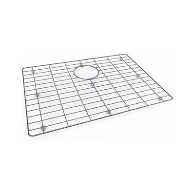 Crosstown 25 x 22 Undermount Bar Sink with Sink Grid