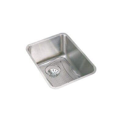 Lustertone 17 x 21 Undermount Kitchen Sink with Perfect Drain