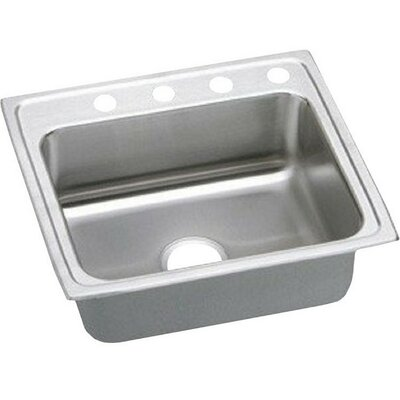 Gourmet 25 x 21.25 Single Basin Drop-in Kitchen Sink