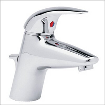 Allure Single Hole Electronic Faucet with Single Lever Handle Finish: Brushed Nickel