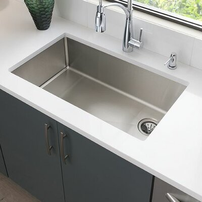 Crosstown 31.5 x 18.5 Undermount Kitchen Sink