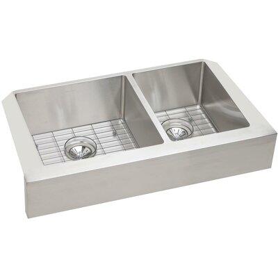 Crosstown 31.5 x 20.5 Apron Front Kitchen Sink