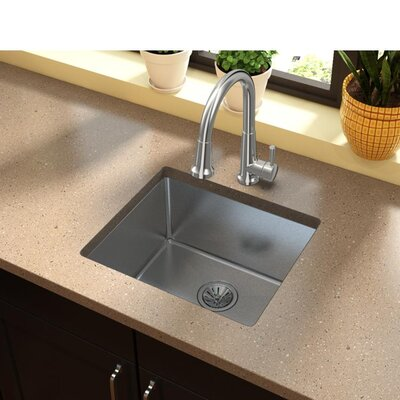 Avado 21.5 x 18.5 Stainless Steel Single Bowl Undermount Kitchen Sink