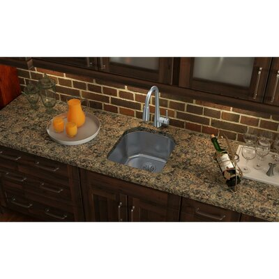 Lustertone 19 x 21 Undermount Kitchen Sink