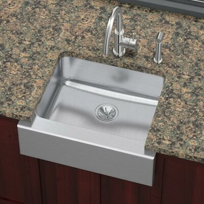 Lustertone 25 x 20.5 Undermount Single Bowl Kitchen Sink