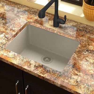 Quartz Classic 25 x 18.5  Undermount Kitchen Sink Finish: Bisque