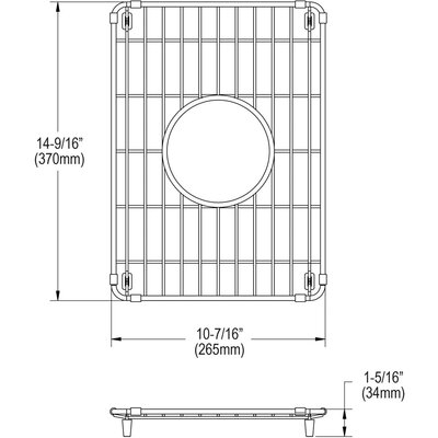 10 x 15 Sink Grid