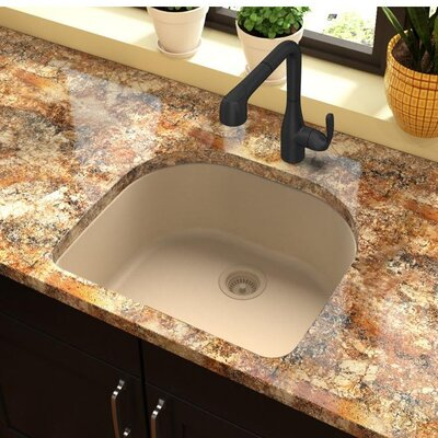 Quartz Classic 25 x 22 Undermount Kitchen Sink Finish: Sand