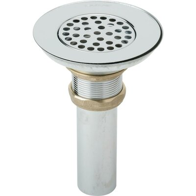 1.5 Grid Bathroom Sink Drain Tailpiece Finish: Chrome Plated