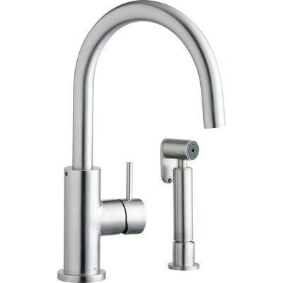 Allure Bar Faucet Side Spray: With Spray