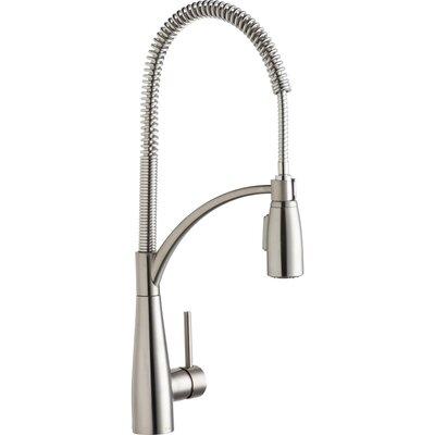 Avado Single Handle Kitchen Faucet Finish: Lustrous Steel