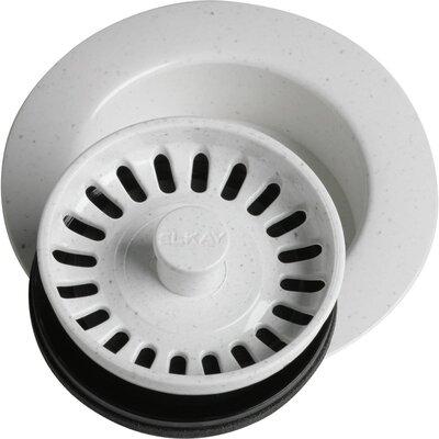 Disposer Flange 3.5 Pop-Up Kitchen Sink Drain Finish: White