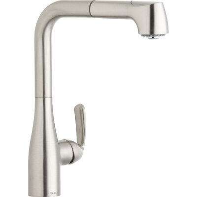 Gourmet Pull Out Bar Faucet Finish: Brushed Nickel