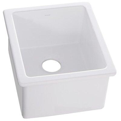 19 x 16 Undermount Bar Sink Finish: White