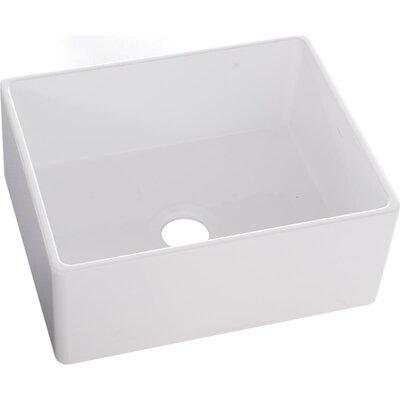 24 x 20 Farmhouse Kitchen Sink Finish: White