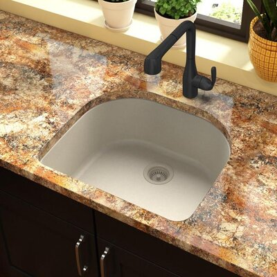Quartz Classic 25 x 22 Undermount Kitchen Sink Finish: Bisque