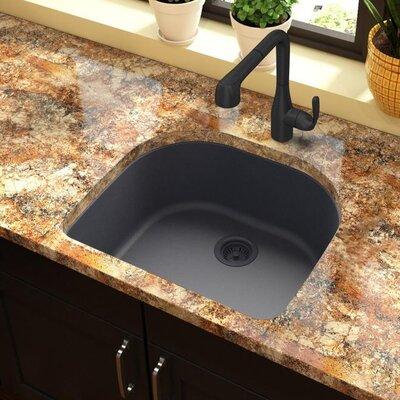 Quartz Classic 25 x 22 Undermount Kitchen Sink Finish: Dusk Gray