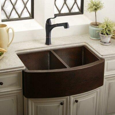33 x 22 Double Basin Kitchen Sink