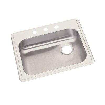 Dayton 25 x 21.25 Top Mount Kitchen Sink