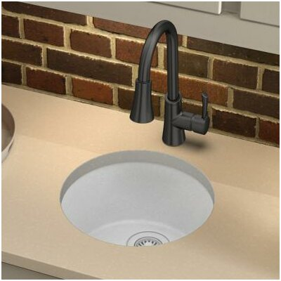 Quartz Classic 18.13 x 18.13 Dual Mount Kitchen Sink Finish: White