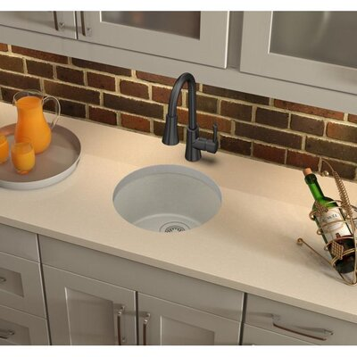 "18"" x 18"" Drop-In Bar Sink Finish: Bisque ELG16FBBQ0"