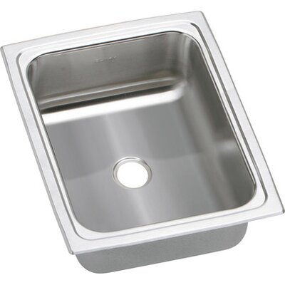 Gourmet 12.5 x 15 Top Mount Kitchen Sink