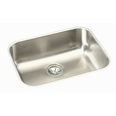 Gourmet 23.5 x 18.25 Kitchen Sink with Drain Assembly and Bottom Grid