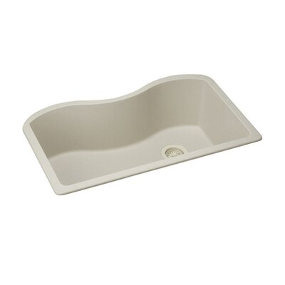 Quartz Classic 33 x 20 Undermount Kitchen Sink Finish: Bisque
