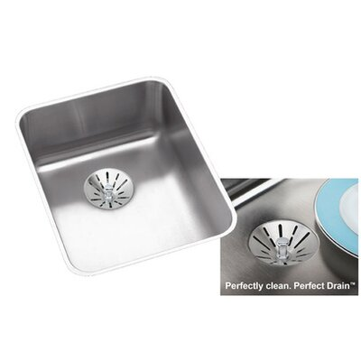 Lustertone 17 x 21 Undermount Kitchen Sink with Perfect Drain